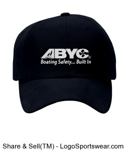 Anvil Pro Cotton Cap with Pre-Curved Bill Design Zoom